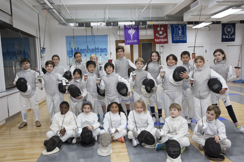 Manhattan Fencing: Beginner and Intermediate Camp