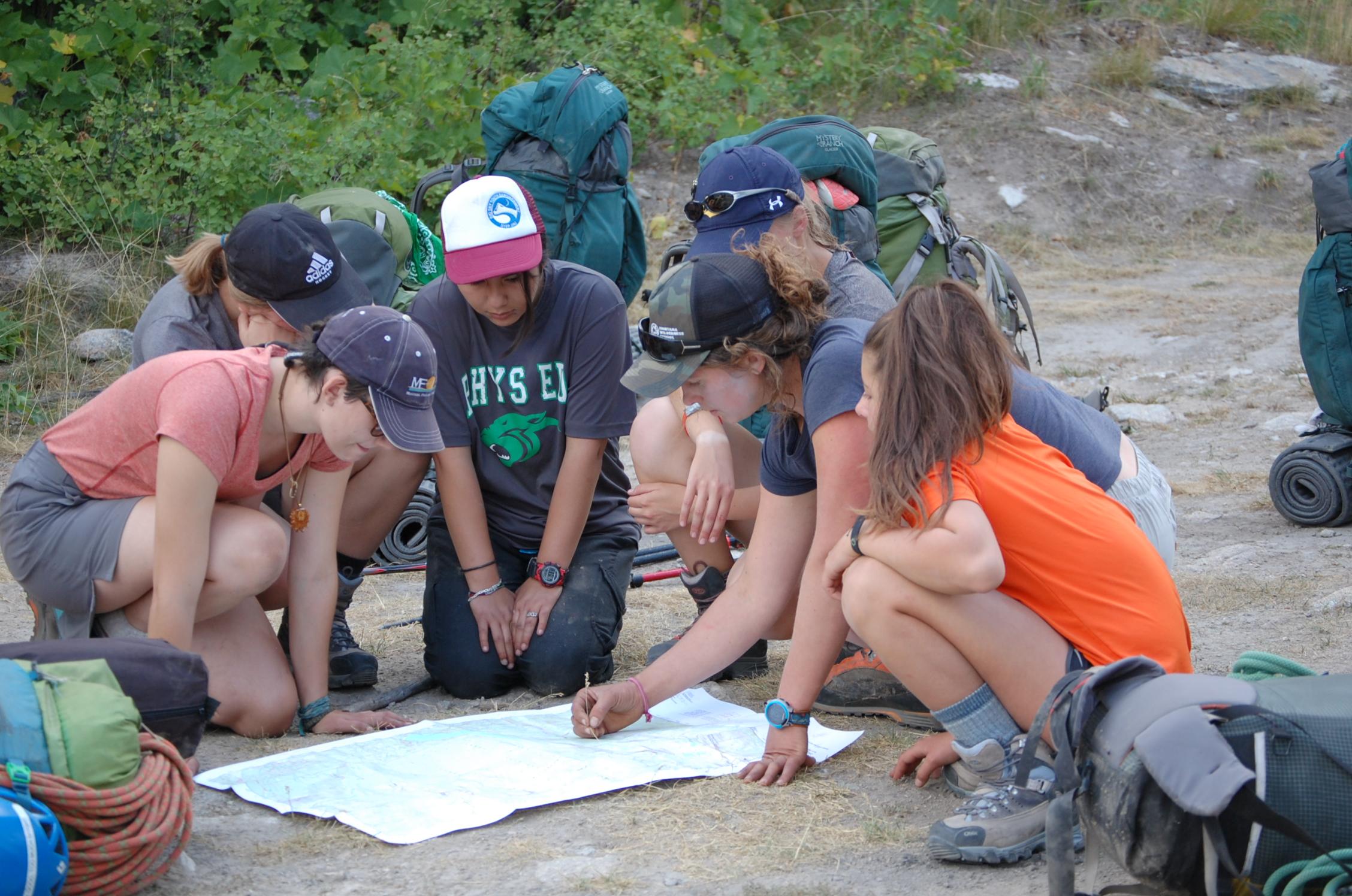 Summer Program - Hiking | Montana Wilderness School