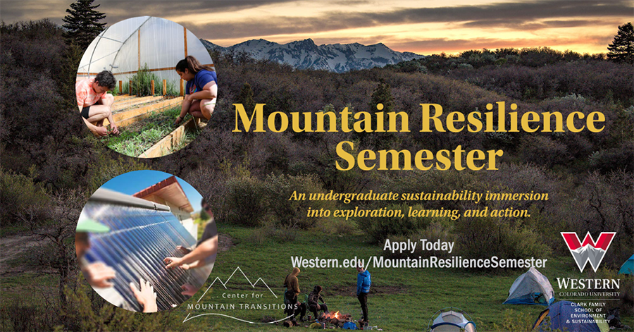 Gap Year Program - Mountain Resilience Semester: Immersion in People, Places, & Environment  1