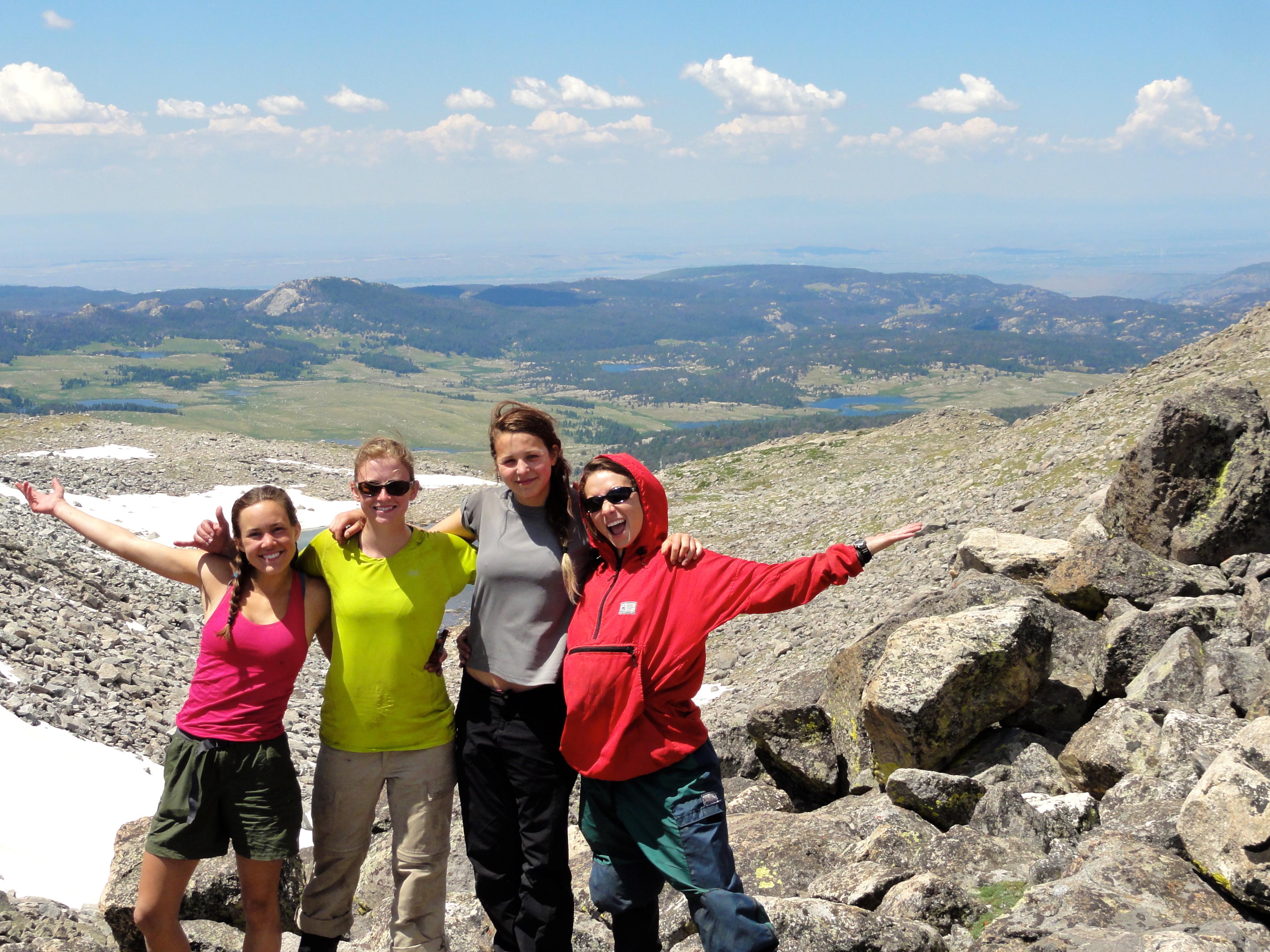 Summer Program - Hiking | NOLS Idaho Girls Backpacking Adventure