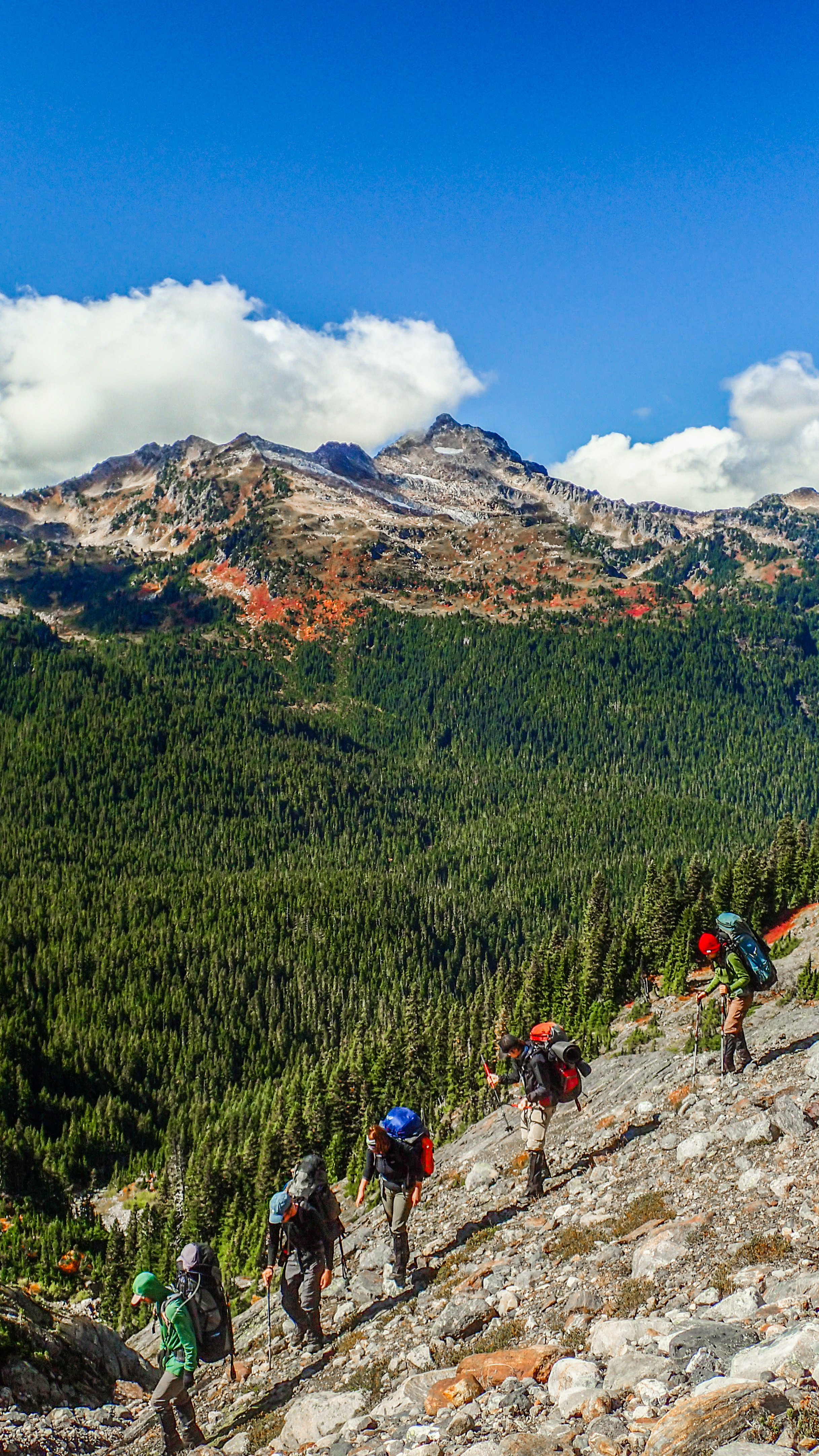 Summer Program - Hiking | NOLS Pacific Northwest Backpacking