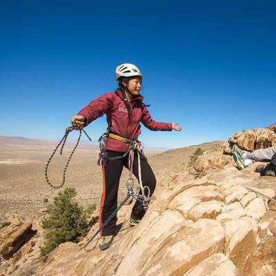 Summer Program - Rock Climbing | NOLS Rock and River