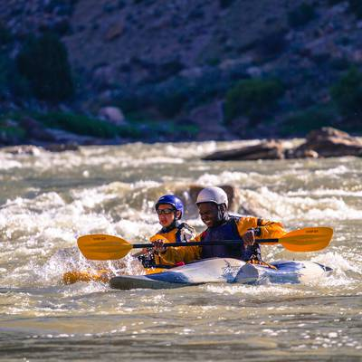 Summer Program - Kayaking | NOLS Rock and River
