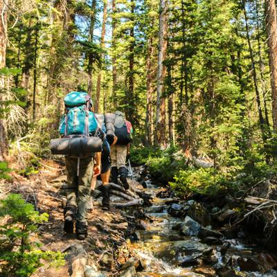 Summer Program - Hiking | NOLS Salmon Backpacking and Rafting