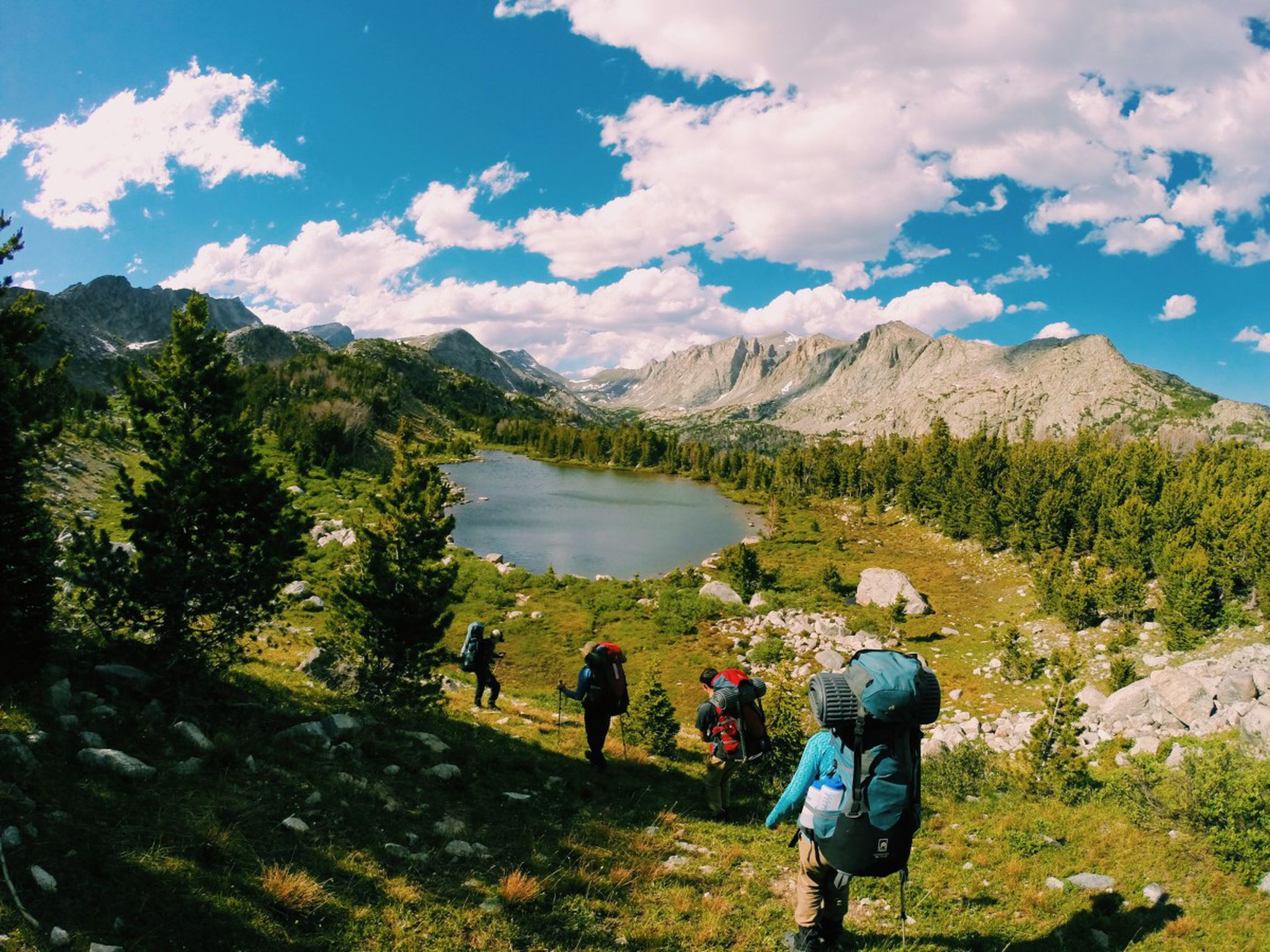 Summer Program - Hiking | NOLS Summer Semester in the Rockies
