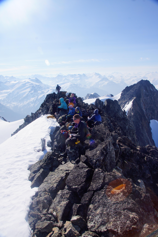 Summer Program - Rock Climbing | NOLS Waddington Range Mountaineering