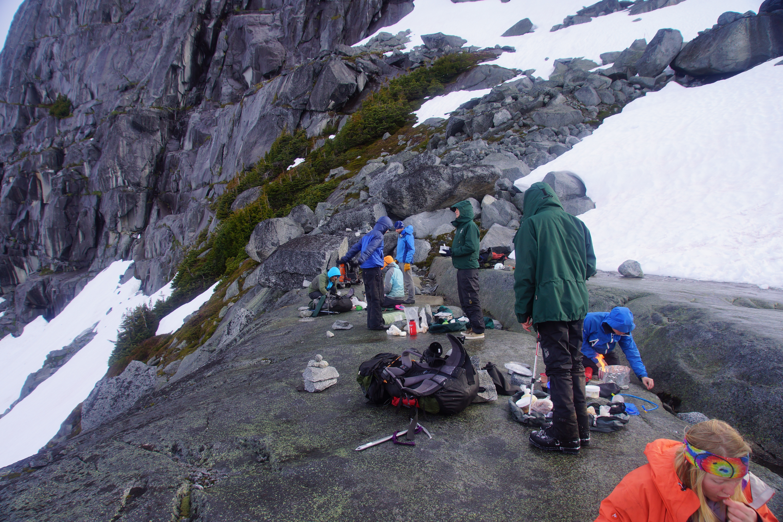 Summer Program - Hiking | NOLS Waddington Range Mountaineering