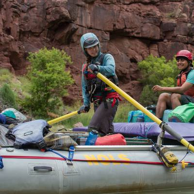Summer Program - Whitewater Rafting | NOLS Whitewater River Expedition (16 and 17 Only)