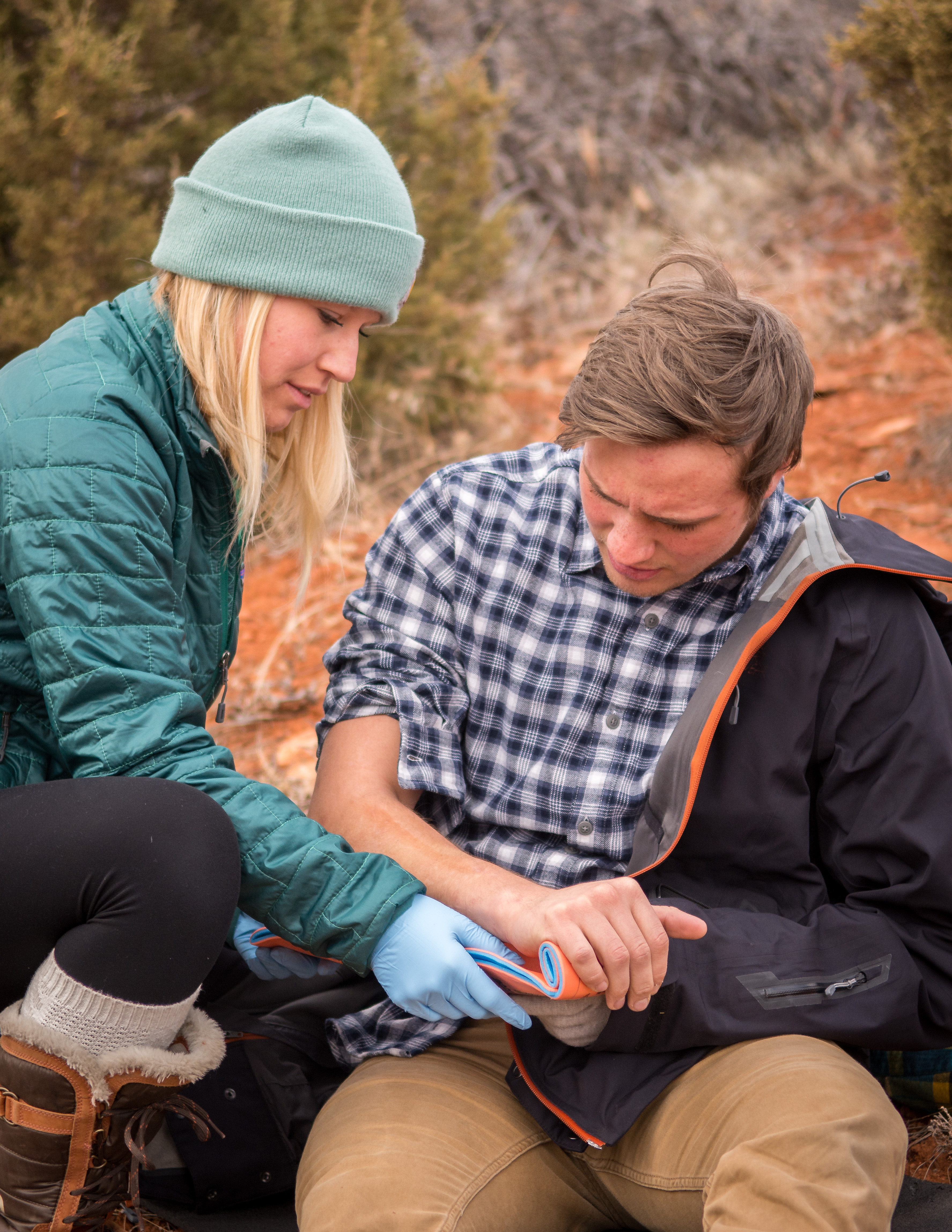 Business - First Aid/CPR | NOLS Wilderness First Responder (WFR)