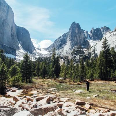 Summer Program - Hiking   NOLS Wind River Mountaineering