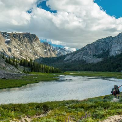 Summer Program - Leadership | NOLS Wind River Wilderness 16 and 17 Only