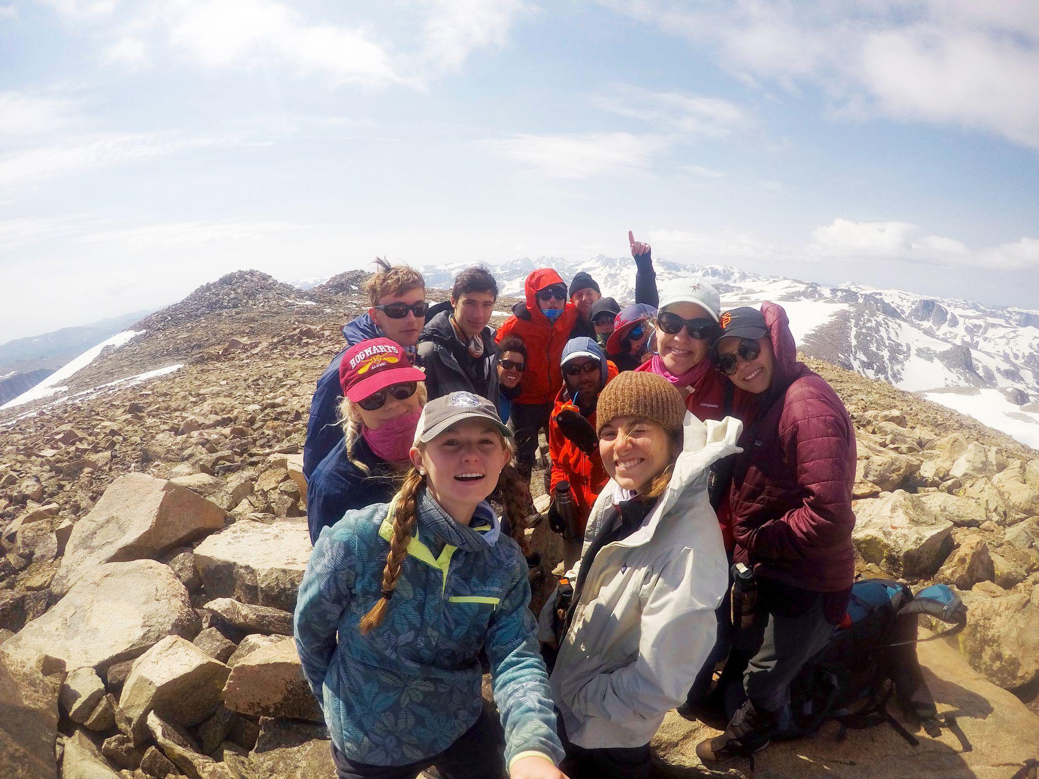 Summer Program - Hiking | NOLS Wind River Wilderness