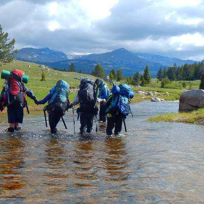 Summer Program - Fishing | NOLS Wyoming Backpacking Adventure