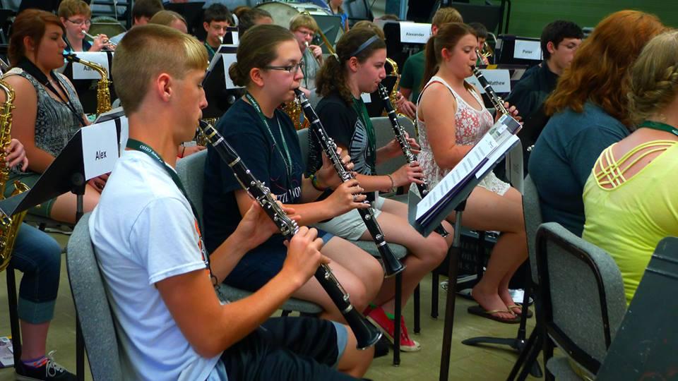 OHIO Summer Music Academy: Band Camp