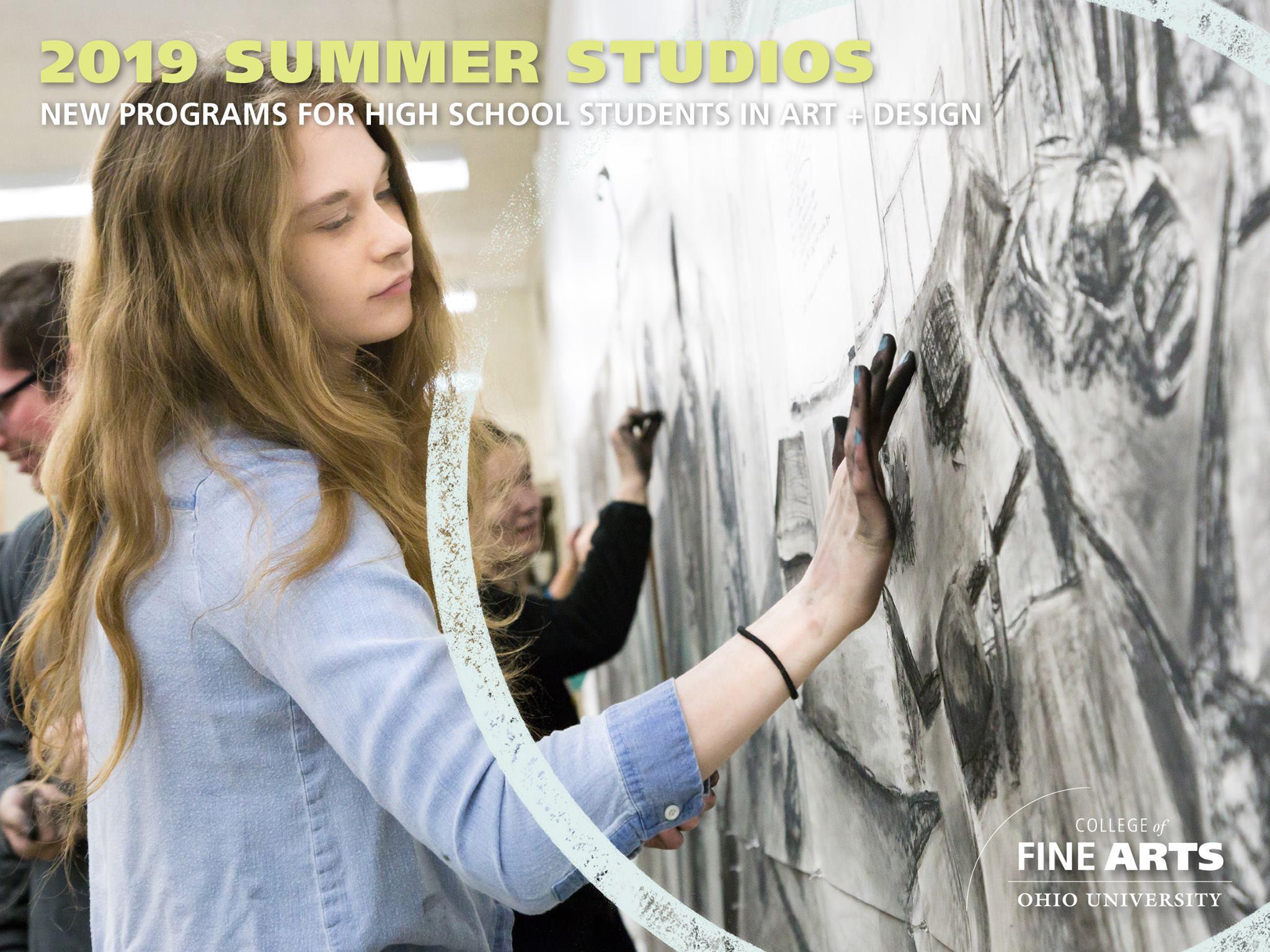 Summer Program - Fine Arts | Ohio University Summer Studio Digital Art + Fabrication