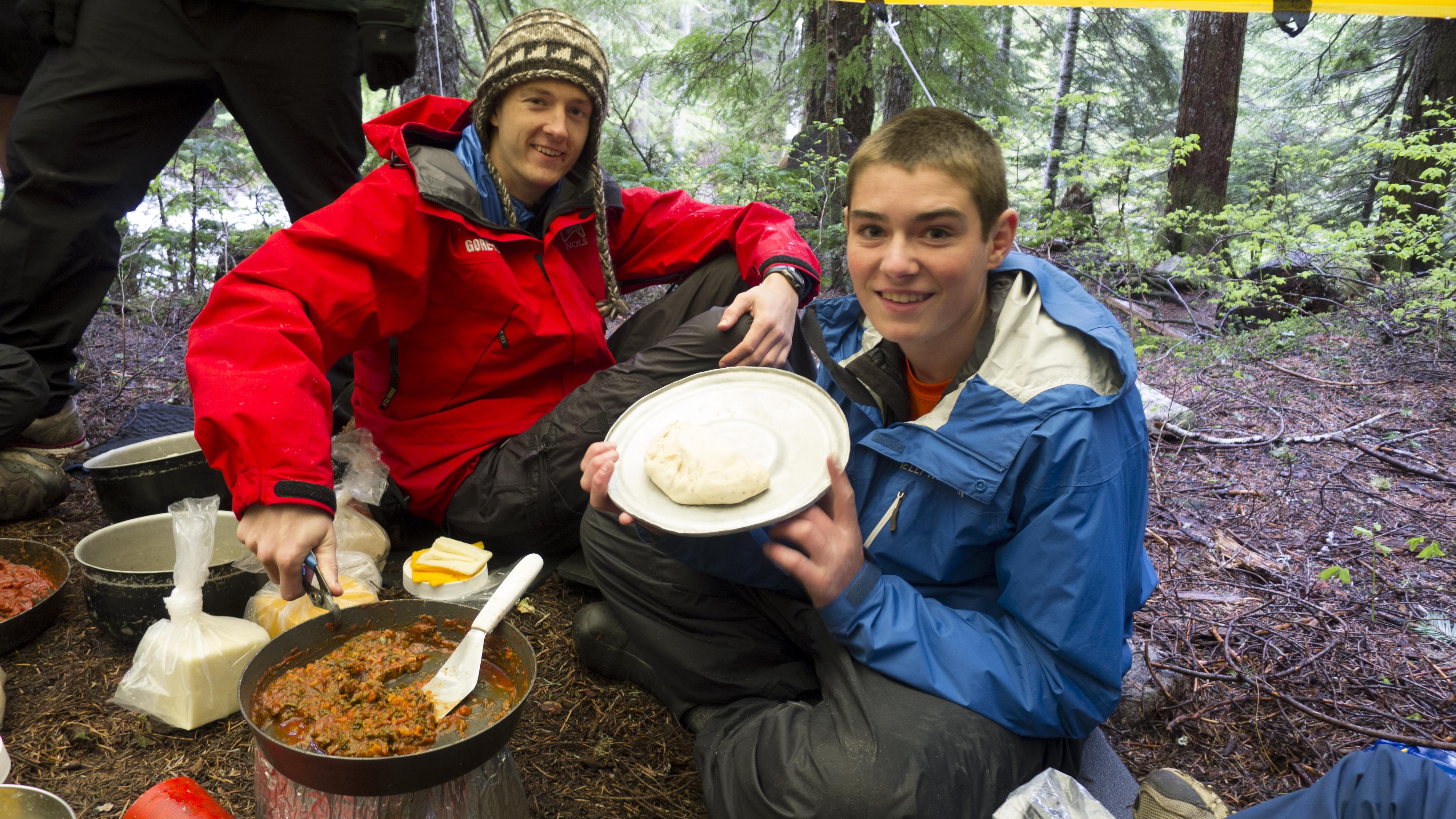 Summer Program - Hiking   NOLS Pacific Northwest Backpacking Adventure