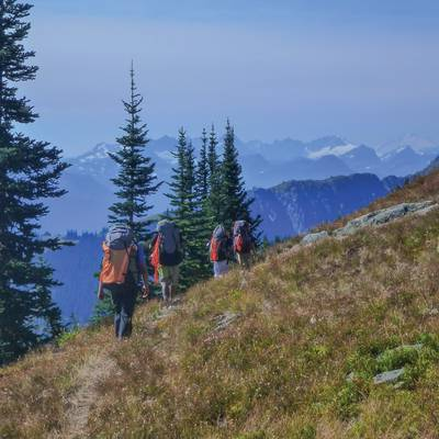 Summer Program - Hiking | NOLS Pacific Northwest Backpacking Adventure