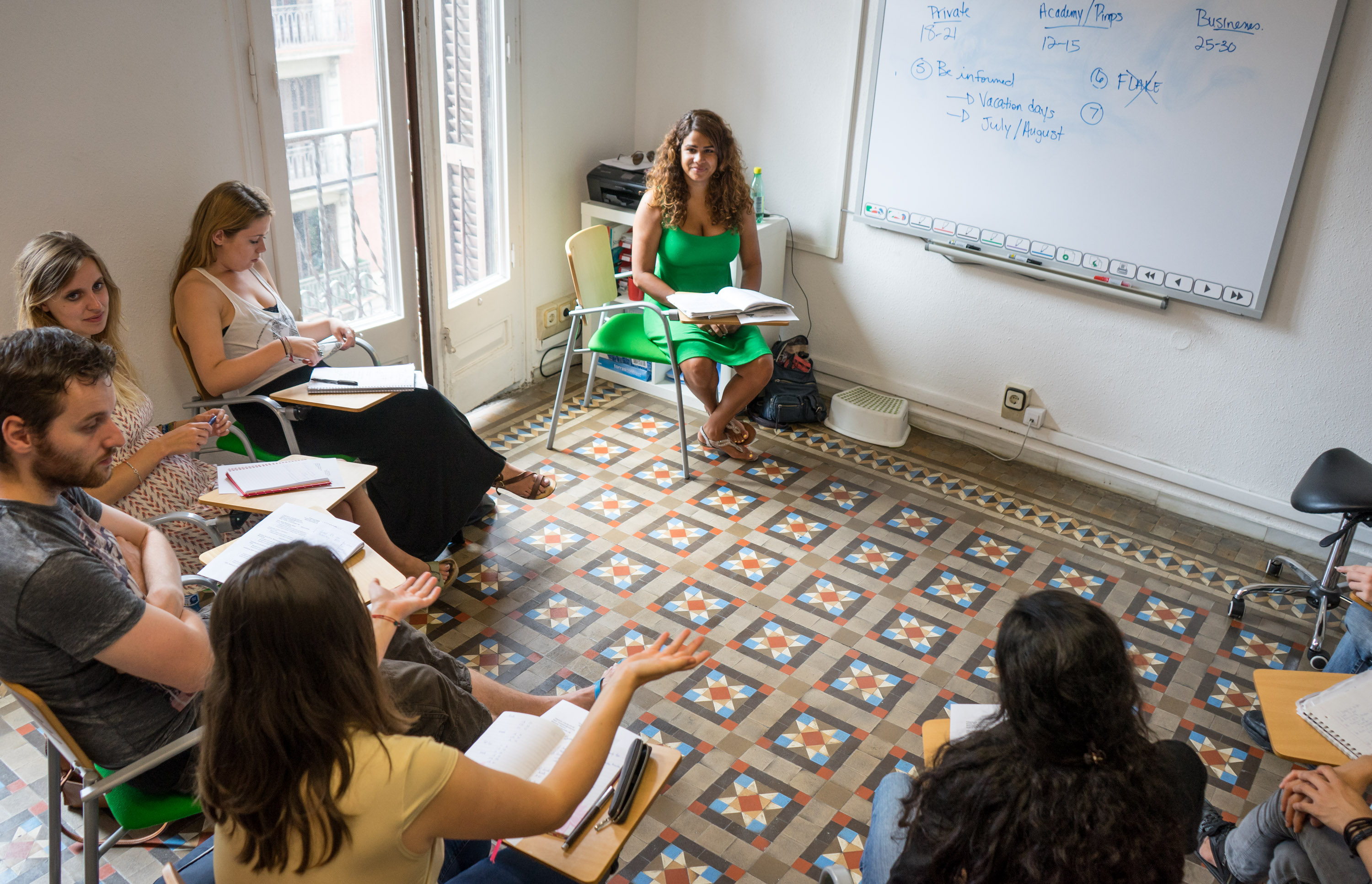 Part-time TEFL courses in Barcelona