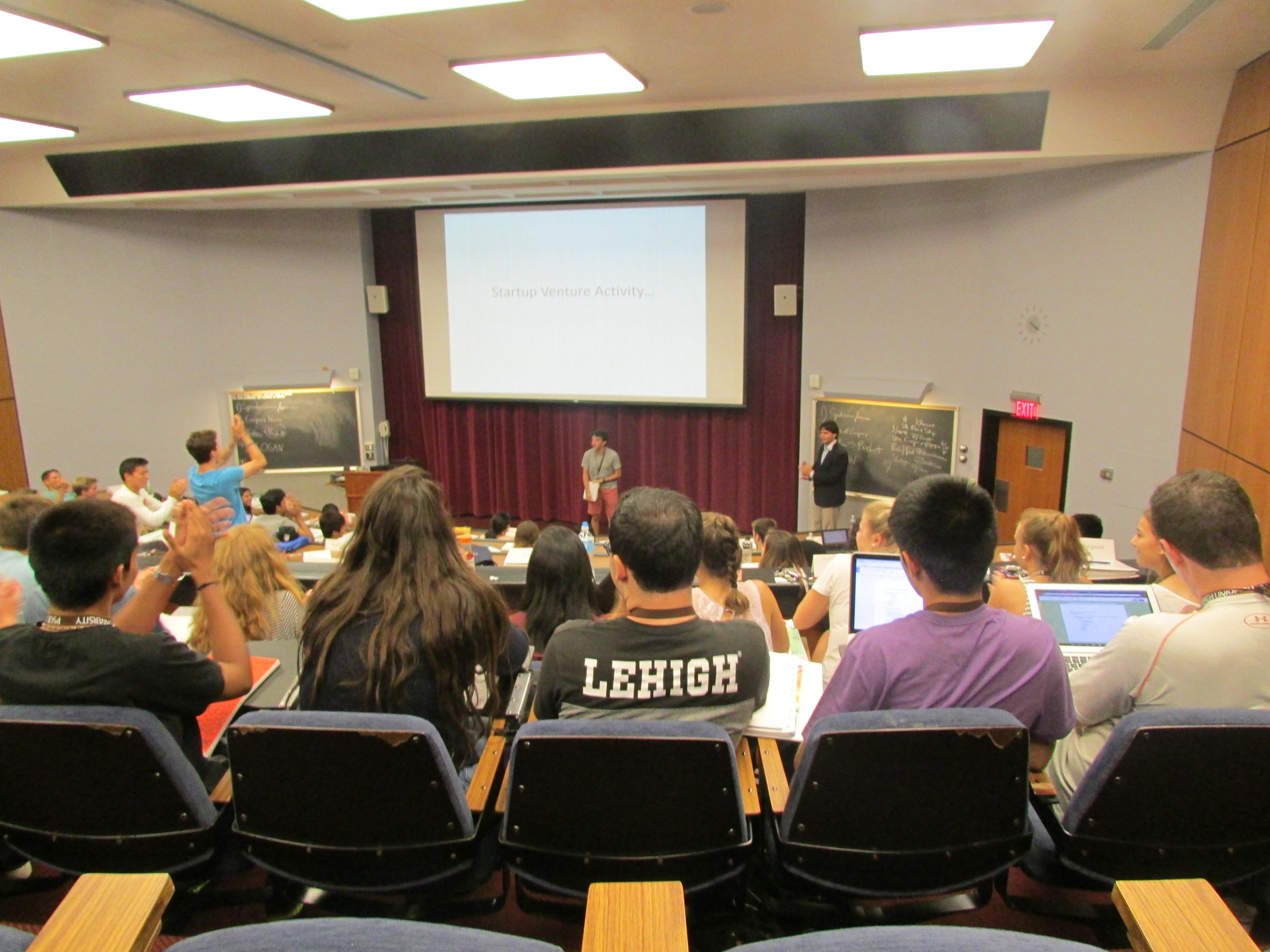 Lehigh University, Iacocca Global Entrepreneurship Intensive