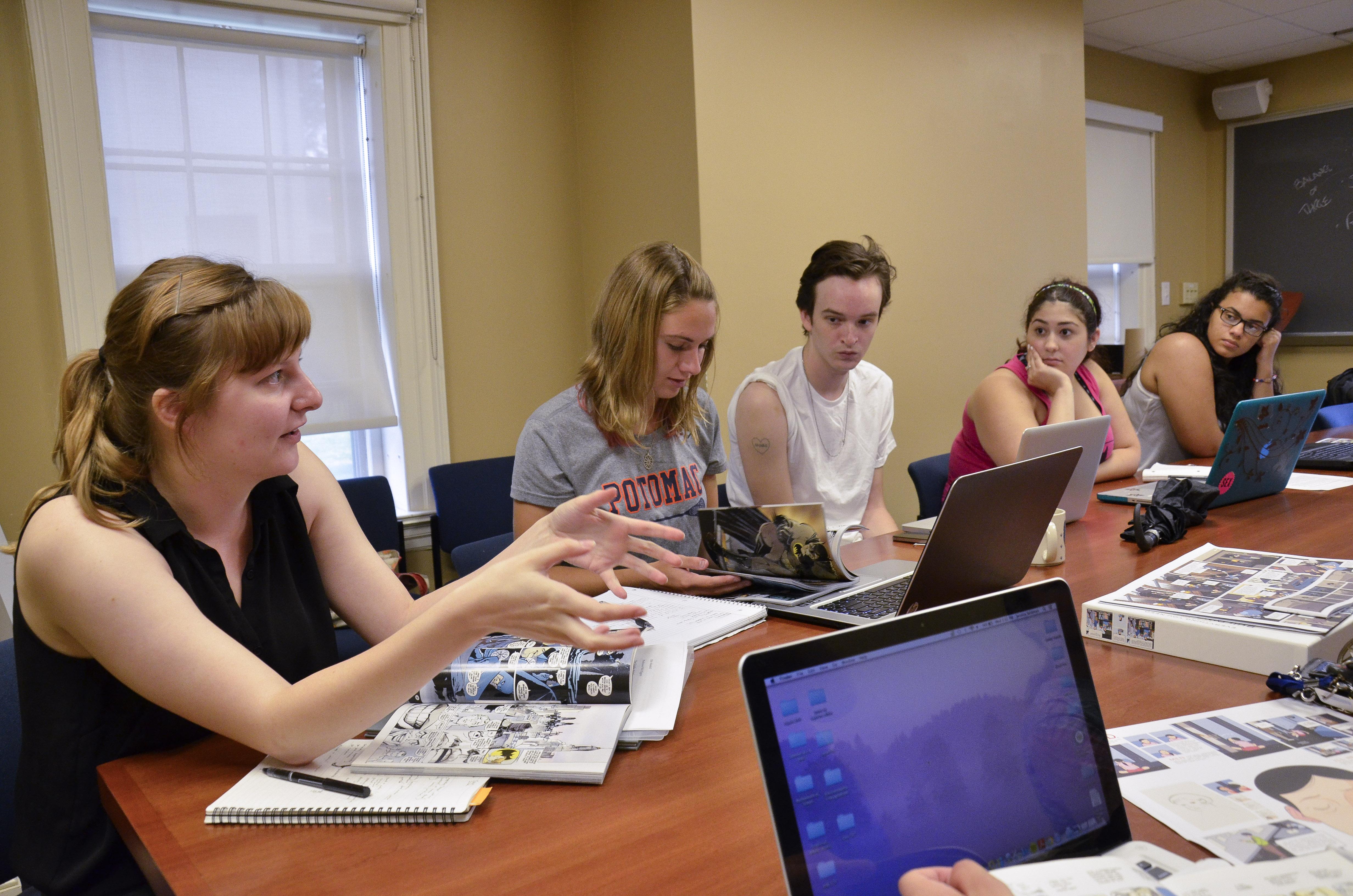 Summer Program - Literature   Wesleyan PreCollege Residential Scholar Program