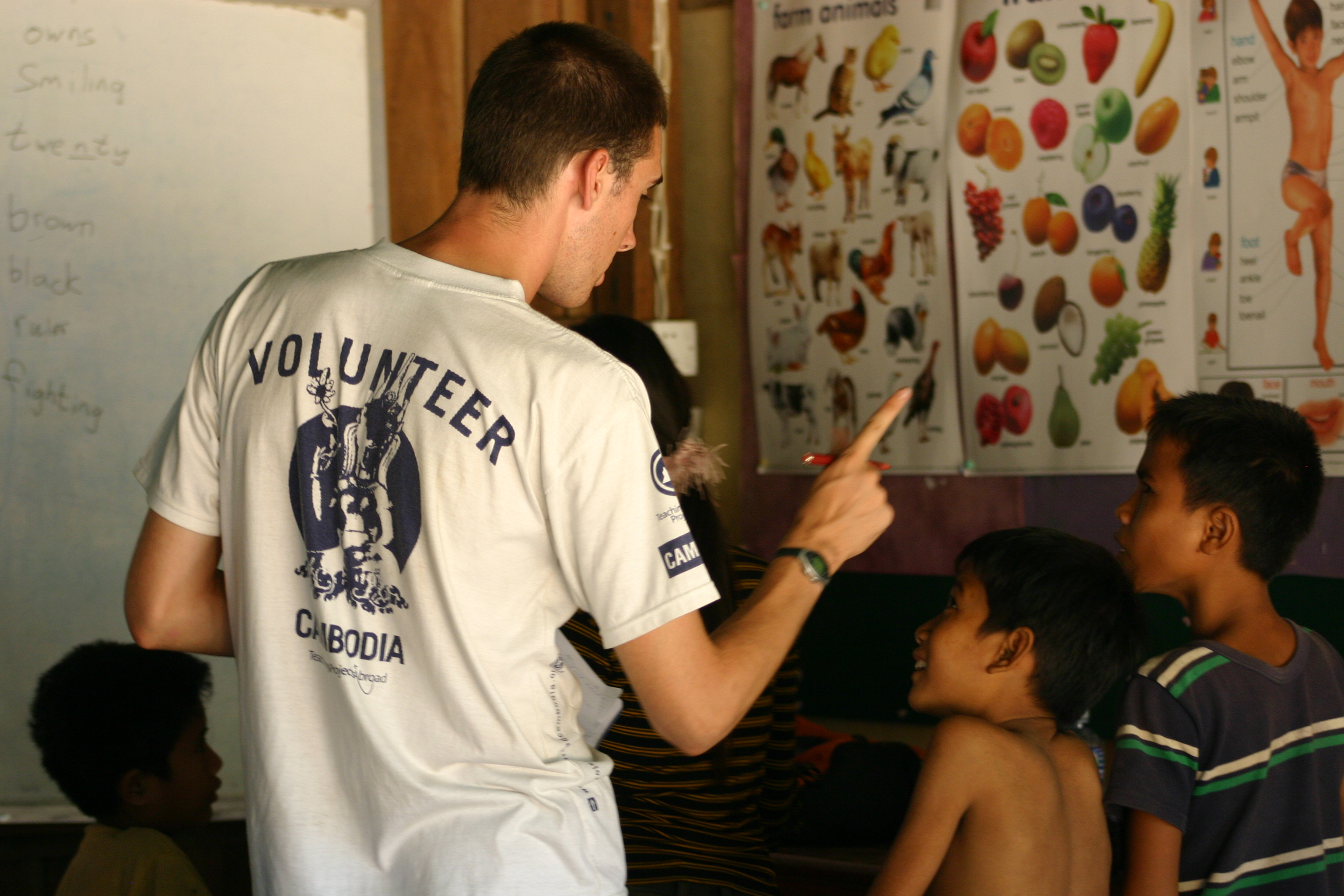 Summer Program - Work Experience   Projects Abroad:  Volunteering Abroad for High School Students