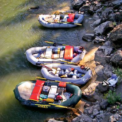 Summer Program - Whitewater Rafting | NOLS Salmon Backpacking and Rafting Adventure