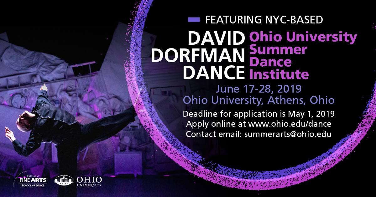 Ohio University: Summer Dance Institute with Dayton Contemporary Dance Company