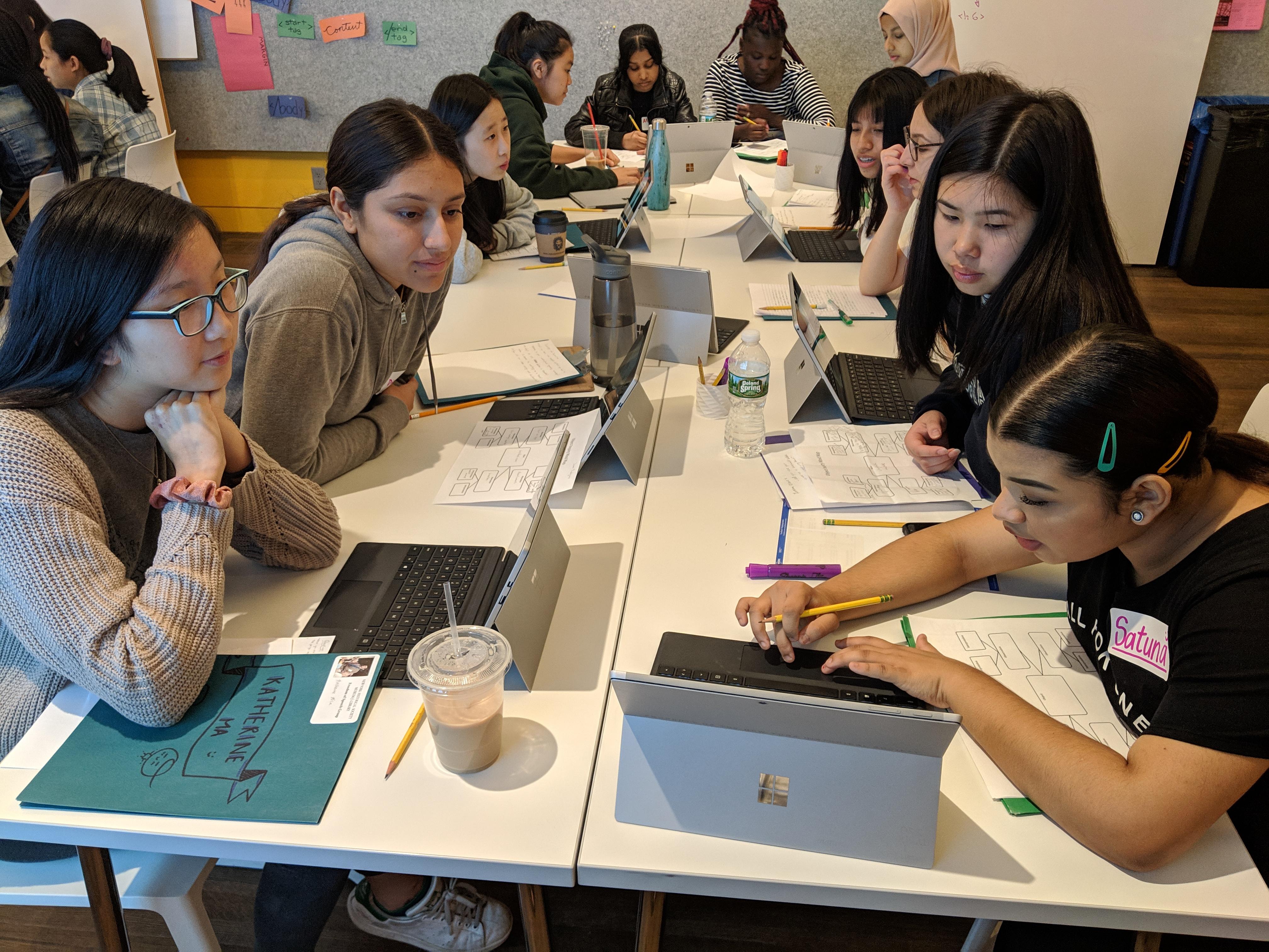 New York Historical Society: Tech Scholars