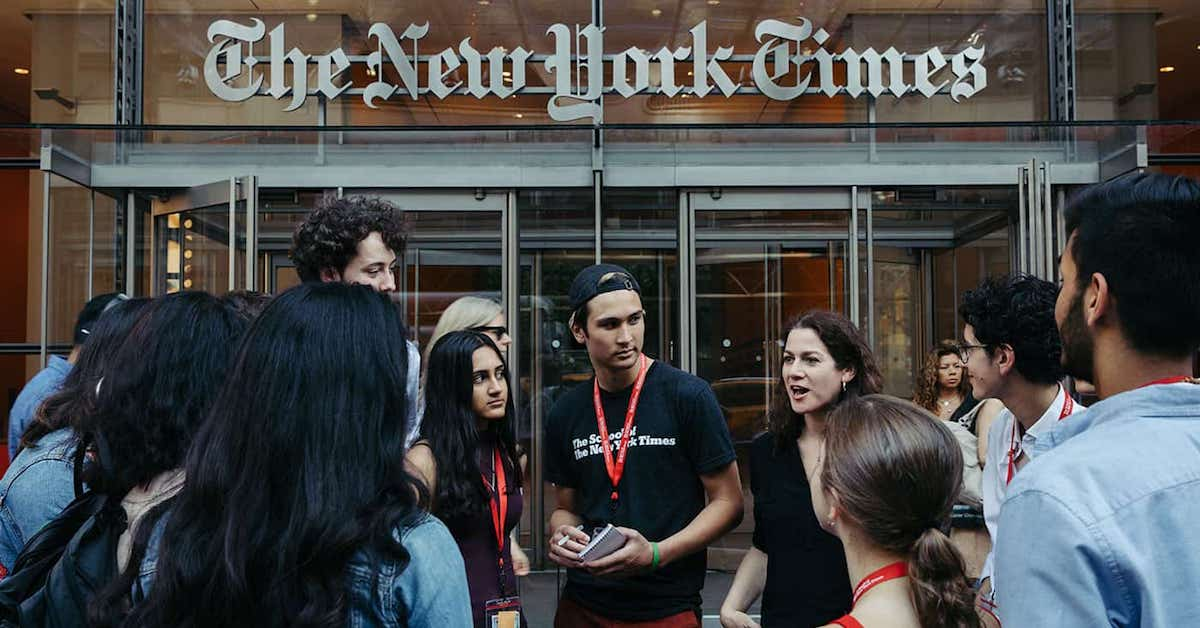 Summer Program - Writing | The School of The New York Times: The Future of Fashion