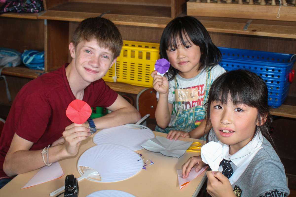 Summer Program - International Relief   Travel For Teens: Japan Discovery and Service