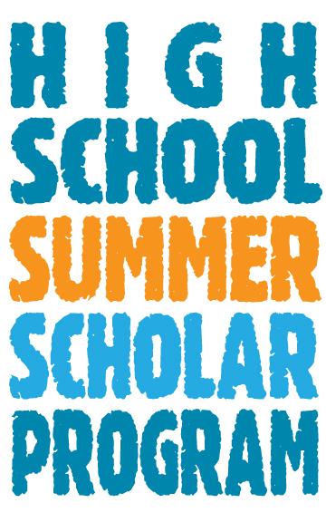 UC Irvine High School Summer Scholar Program