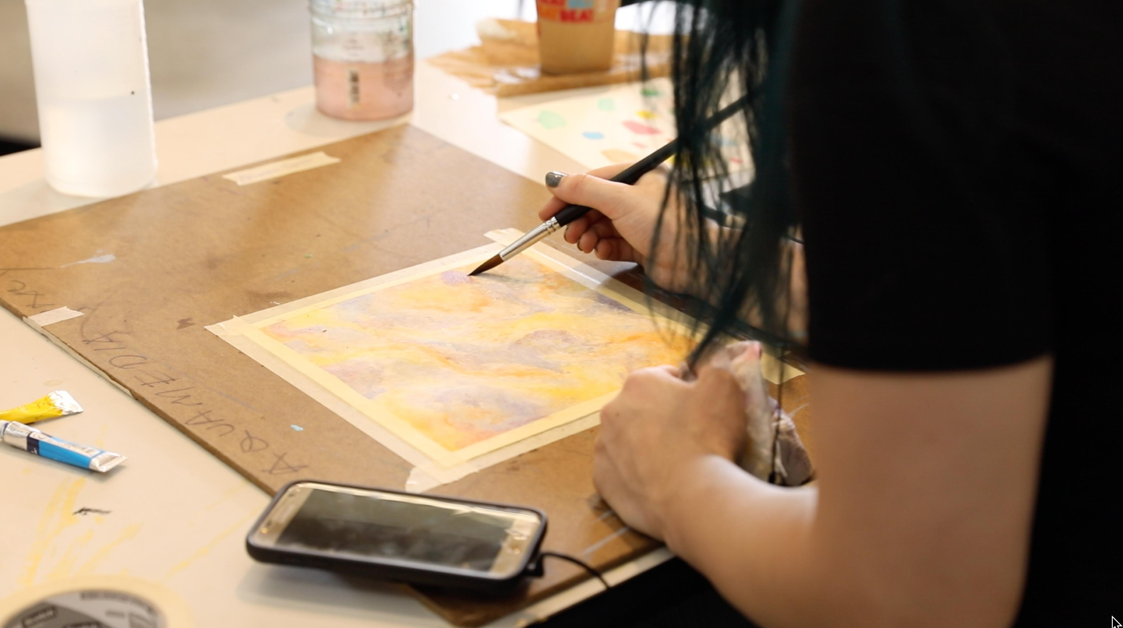 Summer Program - Photography   UConn Pre-College Summer: Art -  Watercolor