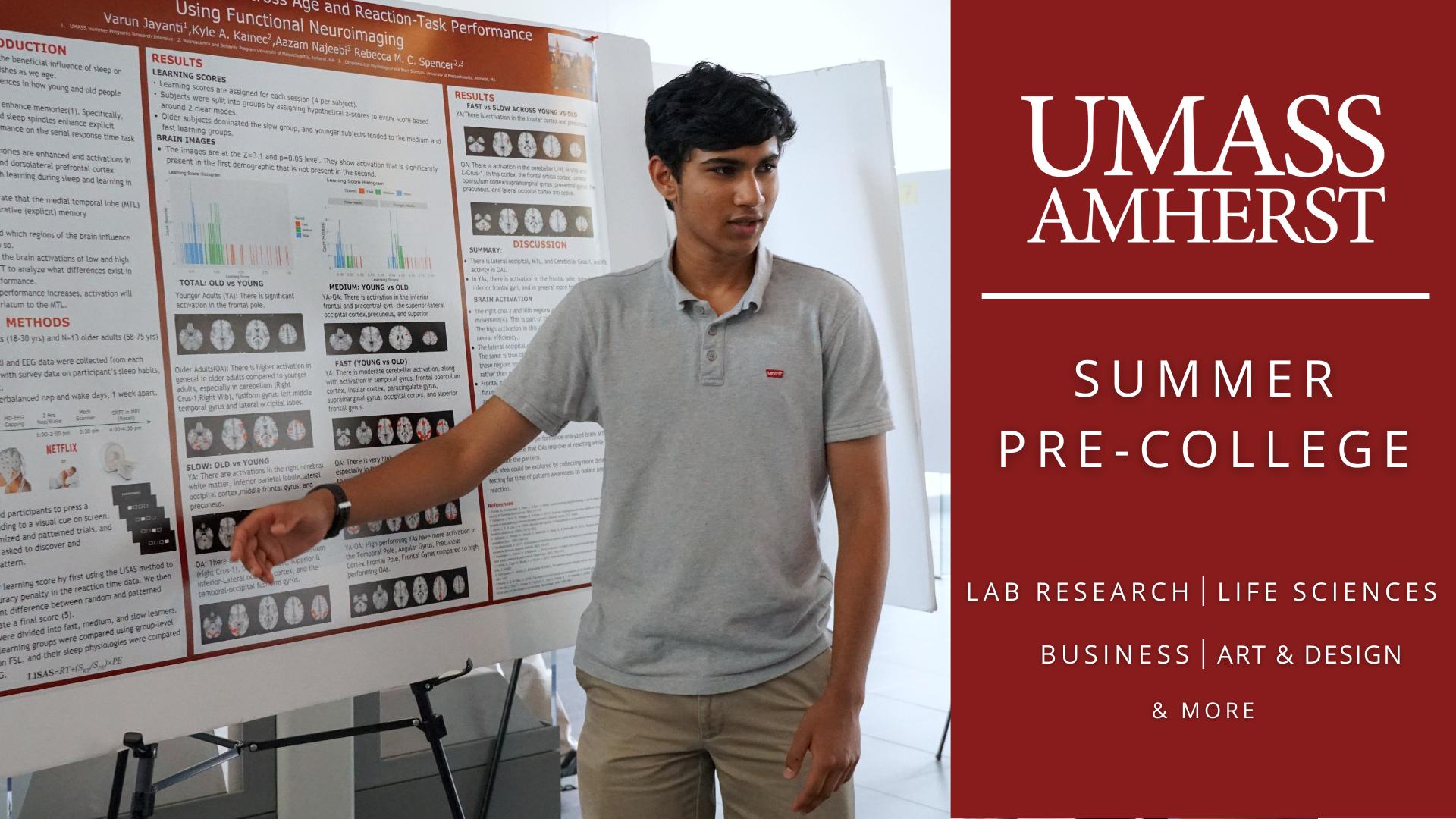 UMass Amherst Summer Pre-College: Veterinary Technology