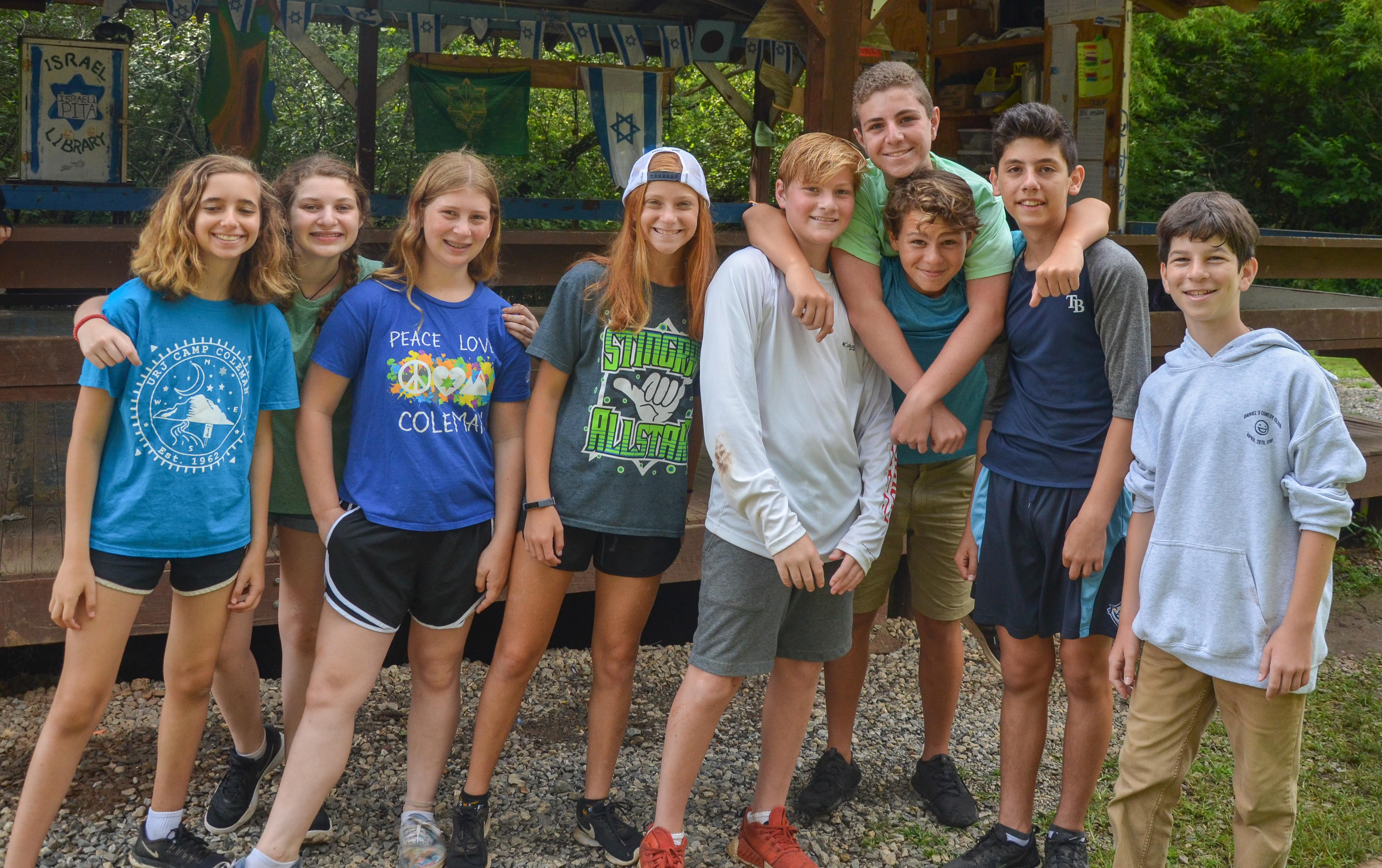 Summer Program - Jewish Culture | URJ Camp Coleman