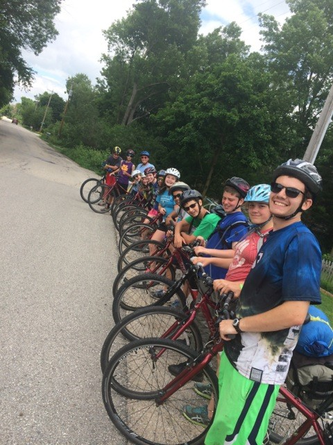 Summer Program - Biking | URJ Tour La'Agam Teen Bike Tour