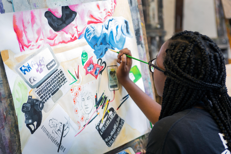 Summer Program - Multi-Arts | ST.ART Pre-College Art + Design at UT Austin