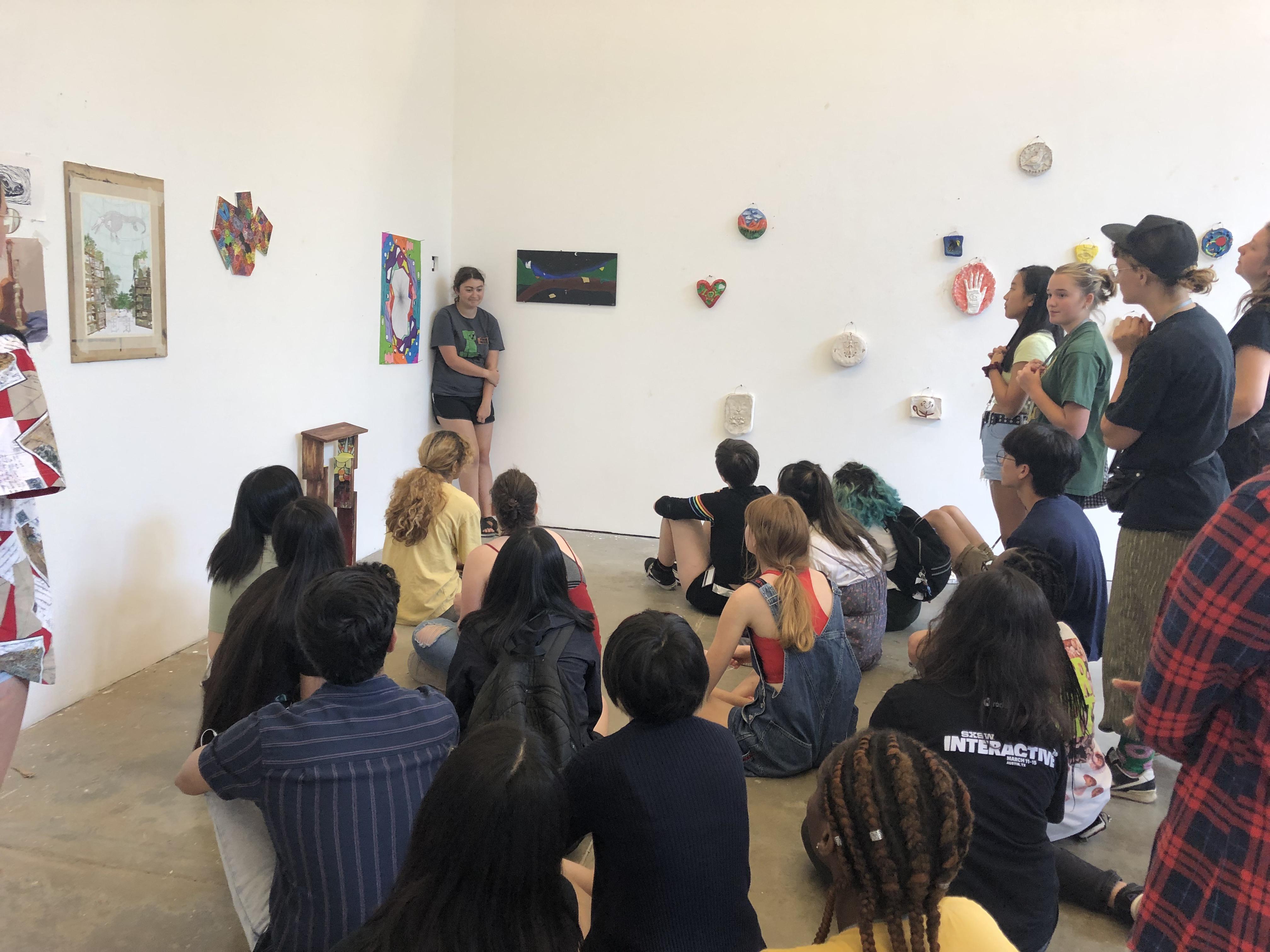Summer Program - Painting & Drawing | ST.ART Pre-College Art + Design at UT Austin