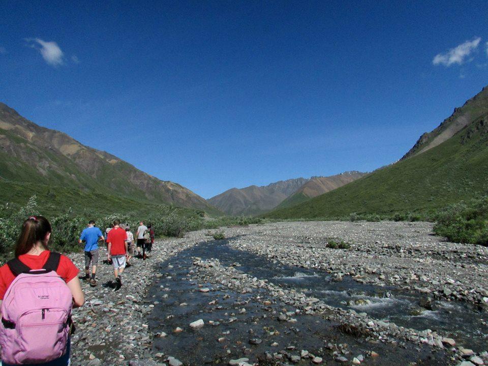 Summer Program - Kayaking | VISIONS Alaska High School Service Program