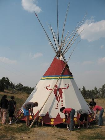 Summer Program - Community Resources | VISIONS Montana Blackfeet High School Service Program
