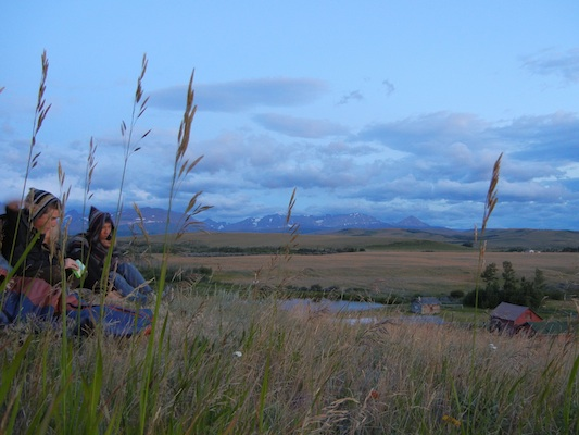 Summer Program - Horseback Riding | VISIONS Montana Blackfeet High School Service Program