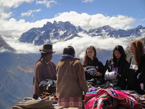 Summer Program - Youth Outreach   VISIONS Peru High School Service Program