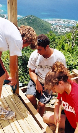 Summer Program - Advocacy for Cause | VISIONS British Virgin Islands High School Service Program