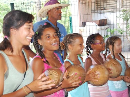 Summer Program - Kayaking | VISIONS Guadeloupe High School Service Program