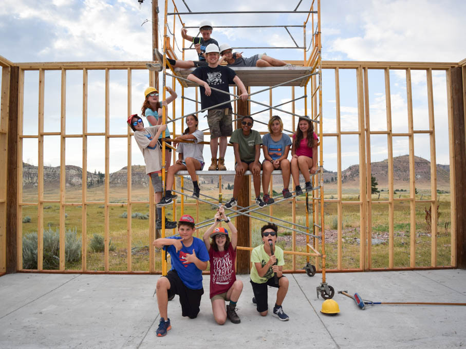 Summer Program - Adventure/Trips | VISIONS Montana Farm and Ranch Middle School Service Program