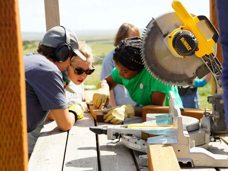 Summer Program - Environmental Conservation | VISIONS Montana Farm and Ranch Summer High School Service Program