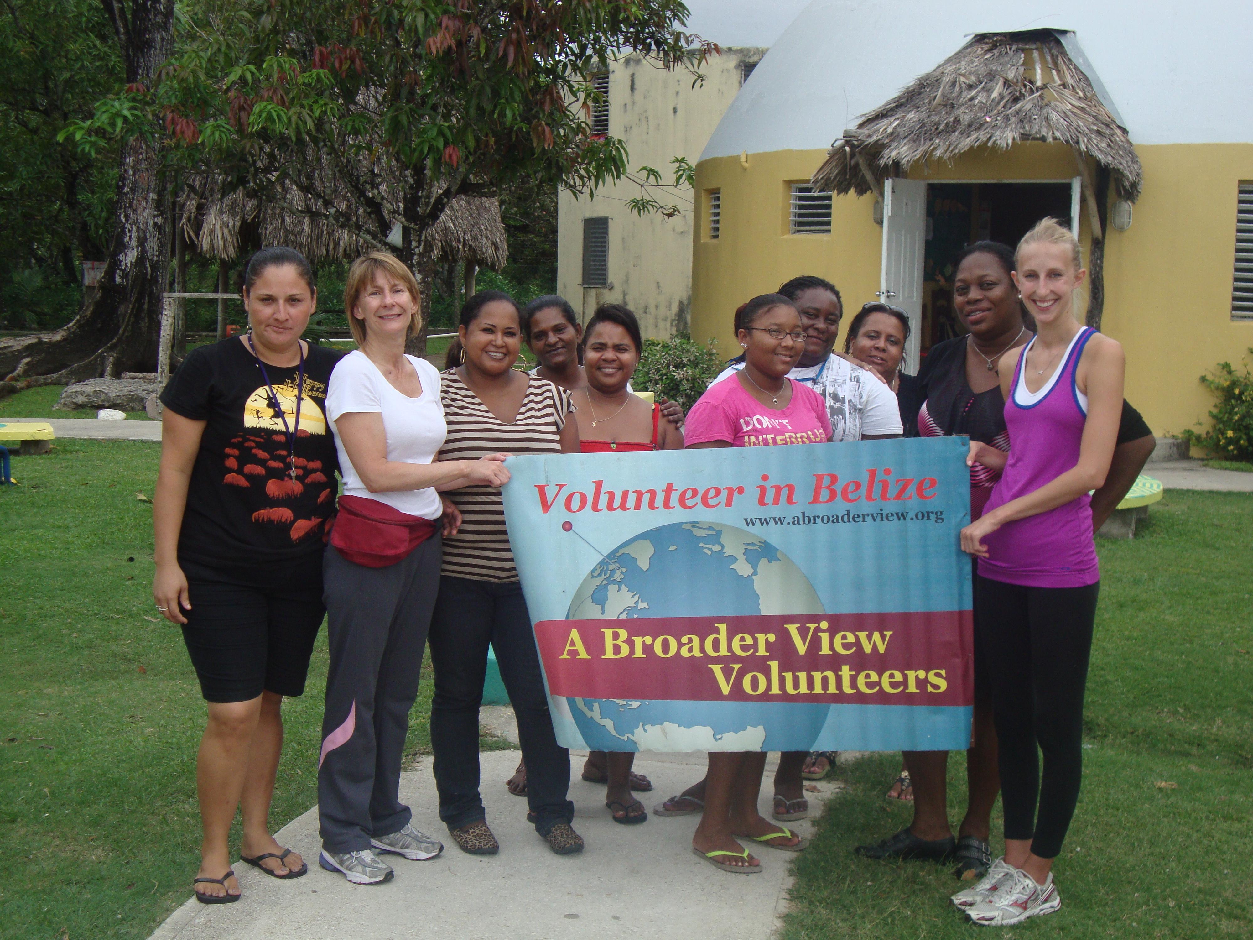 Volunteer in BELIZE – Orphanage and Teaching Program with A Broader View Volunteers