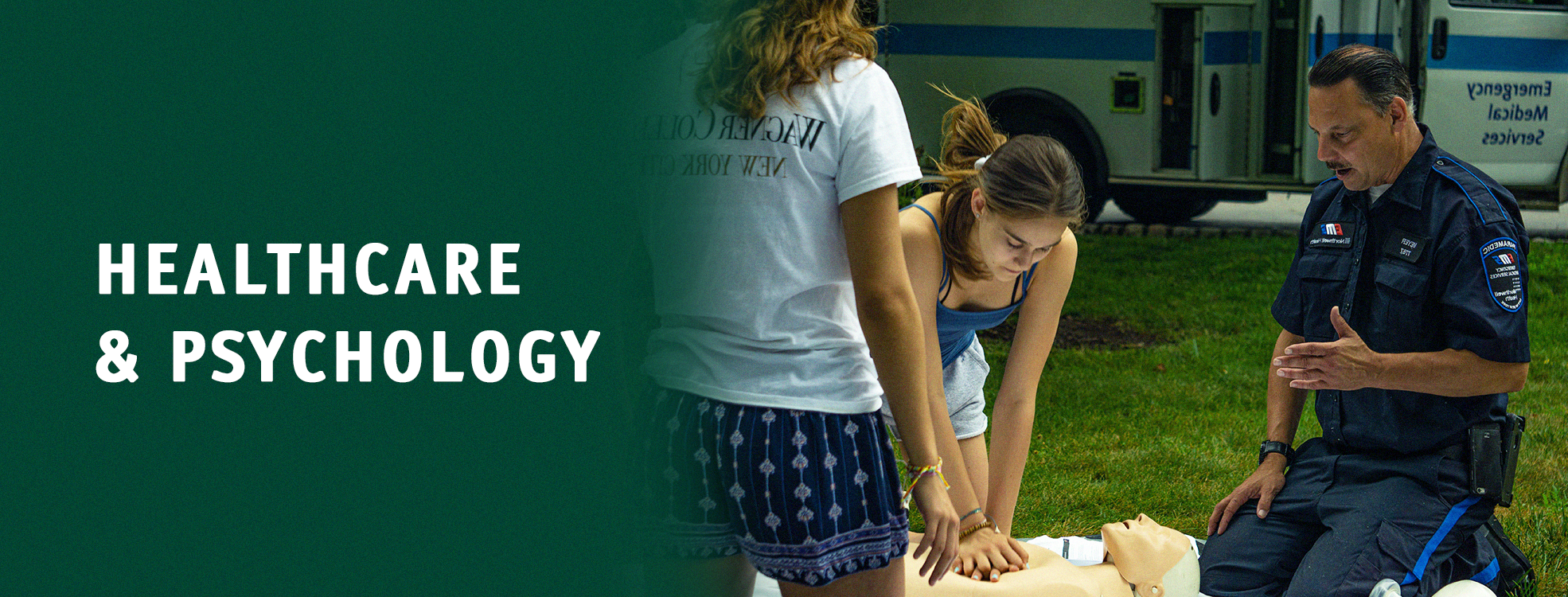 Summer Program - Pre-Med | Healthcare and Psychology | Summer Pre-College Program for High School Students at Wagner College