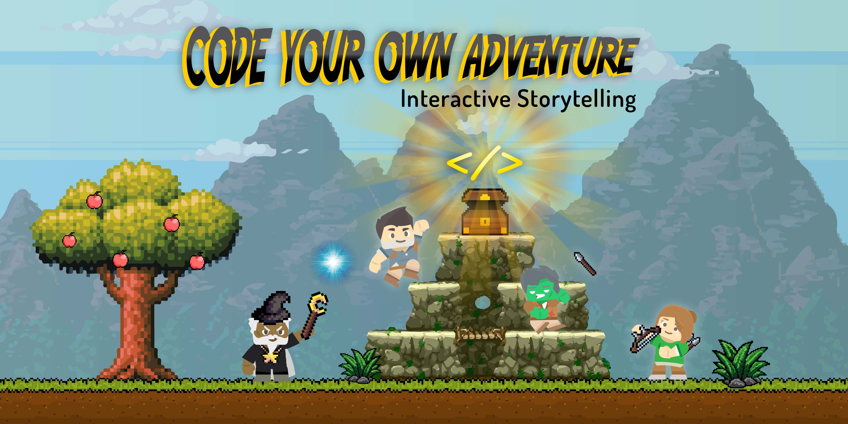 William Paterson University: Code Your Own Adventure! Interactive Storytelling (Grades 4-6)