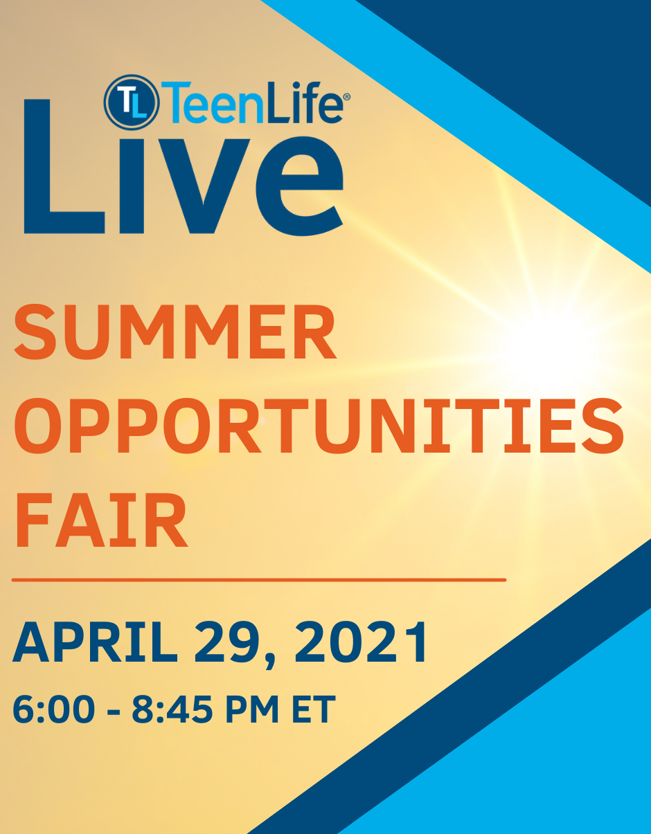 Virtual Fair: Summer Opportunities-TeenLife